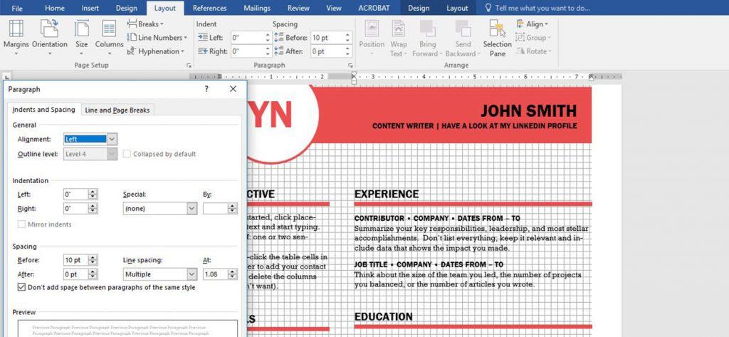 Schermata di Word: programma per impaginare alla portata di tutti