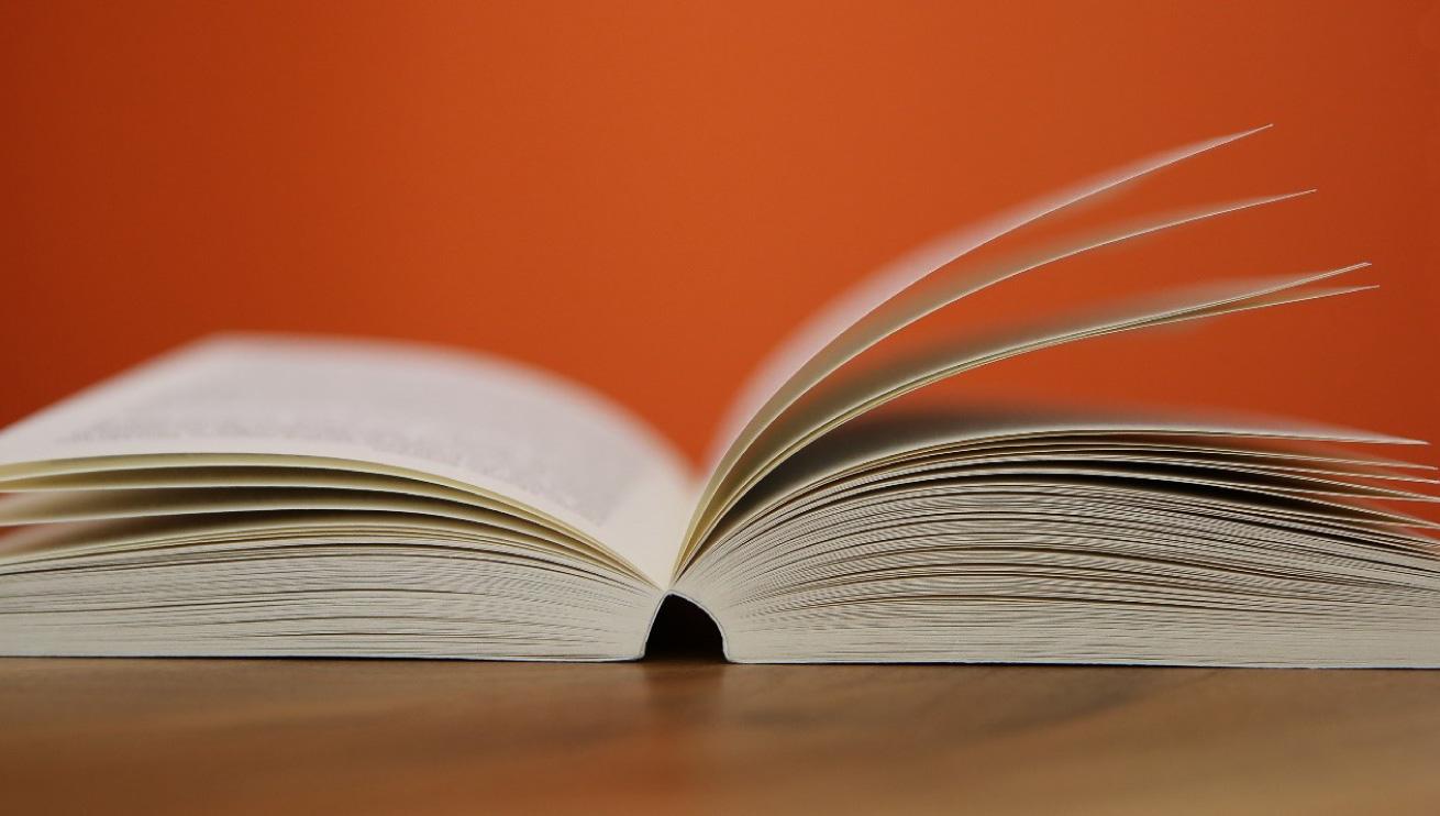 Un libro rilegato con la tecnica della brossura grecata