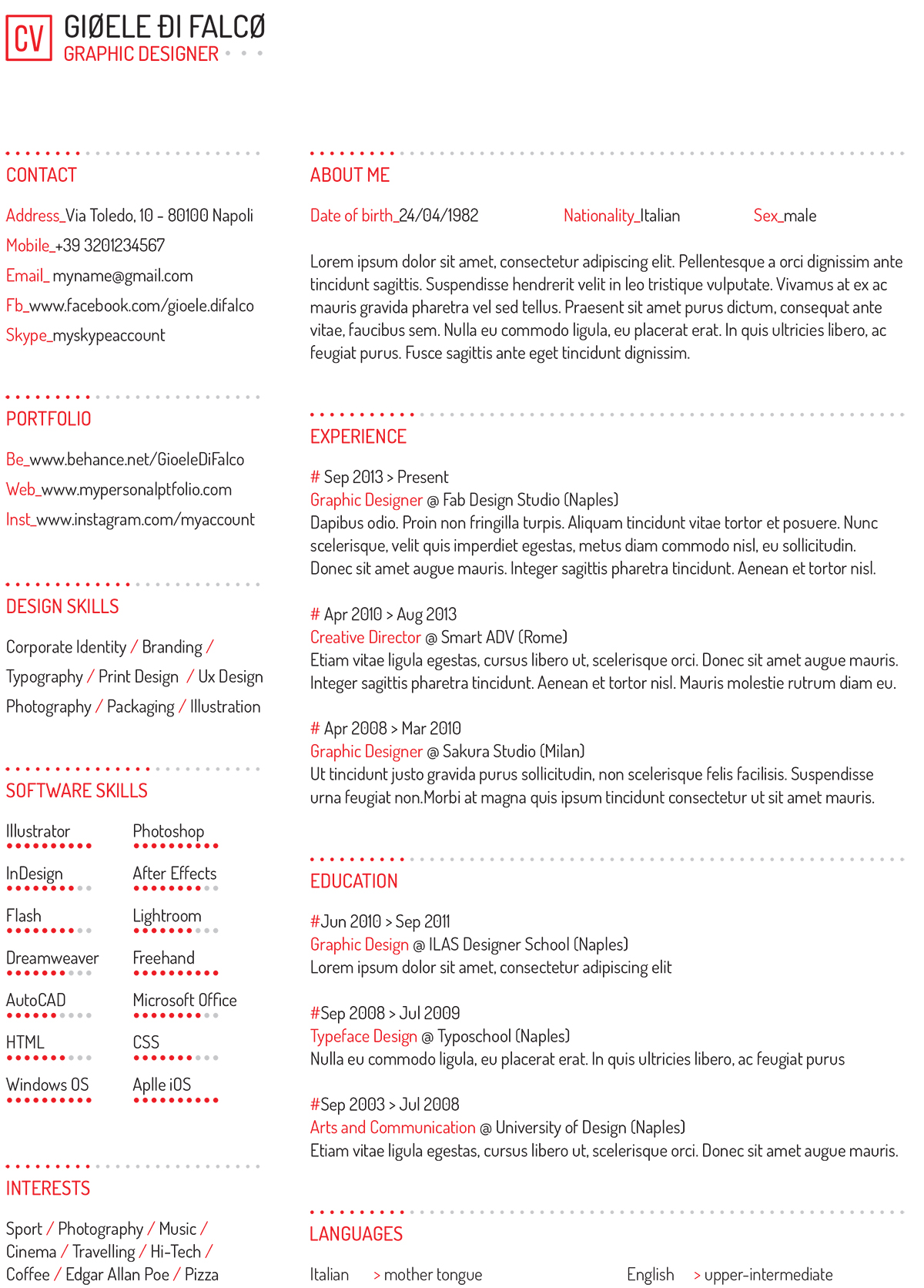 5 Consigli Per Impaginare Il Vostro Curriculum Vitae Pixartprinting