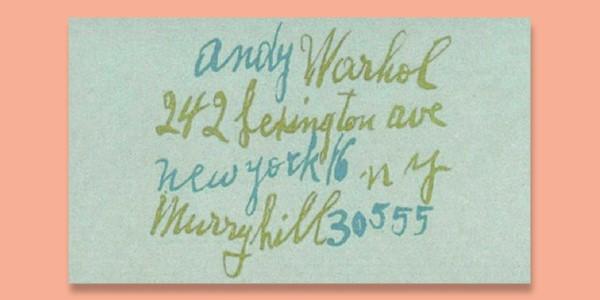 Voil Une Carte De Visite Qui Ne Passera Pas Inaperue Depuis Nombreux Artistes Et Crateurs Ont Choisi Loption Manuscrite