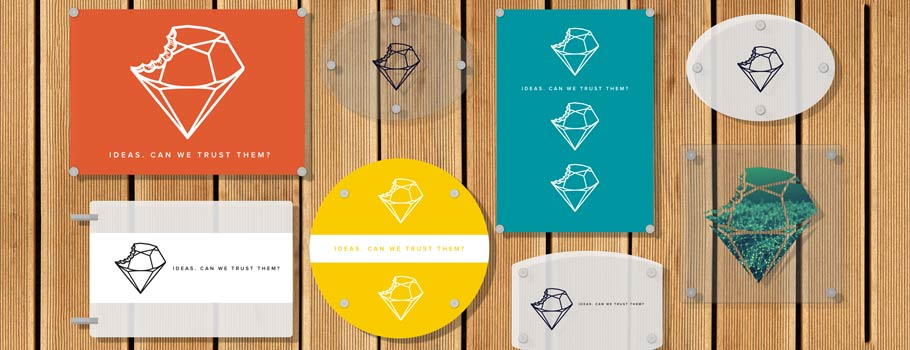 Plexiglas plaques in various formats