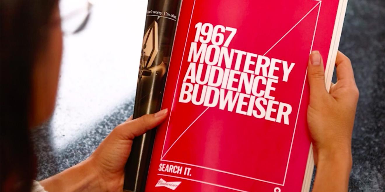 Campaña de Budweiser «Tagwords»