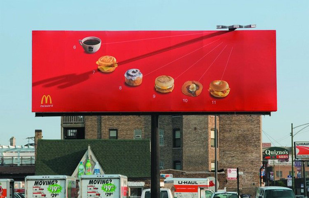 Outdoor Advertising – Affissione McDonald's