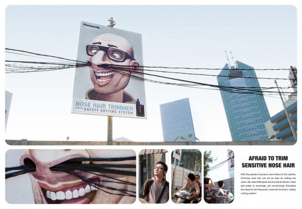 Outdoor Advertising – Panasonic poster