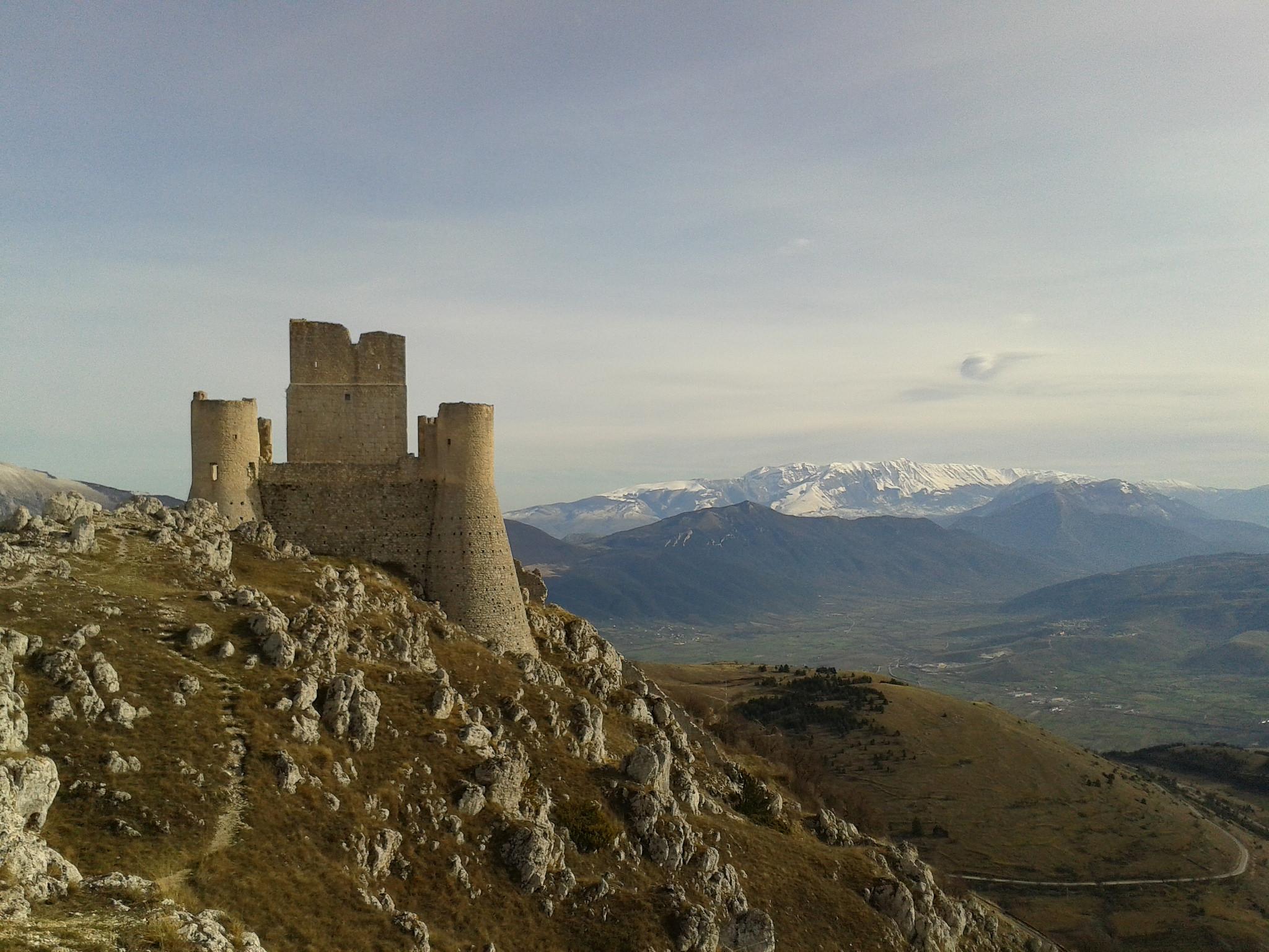 Rocca Calascio en los Abruzos