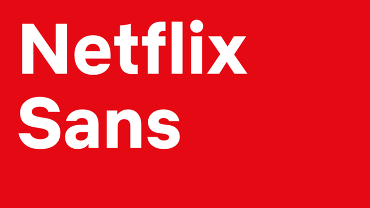 The new Netflix font