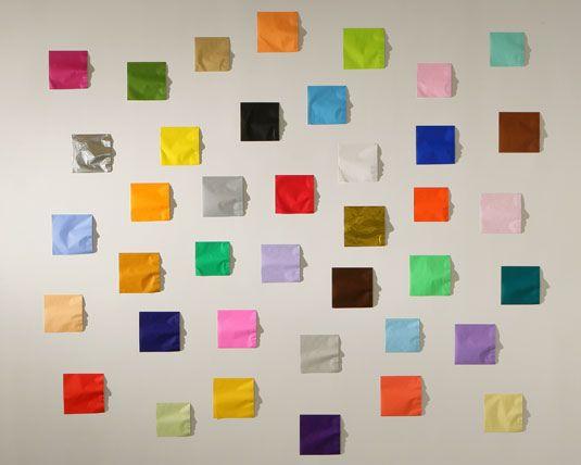 Kumi Yamashita, Origami, American Express, New York, 2011