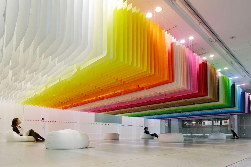 Emmanuelle Moureaux, 100 colors no.1, Tokyo 2013