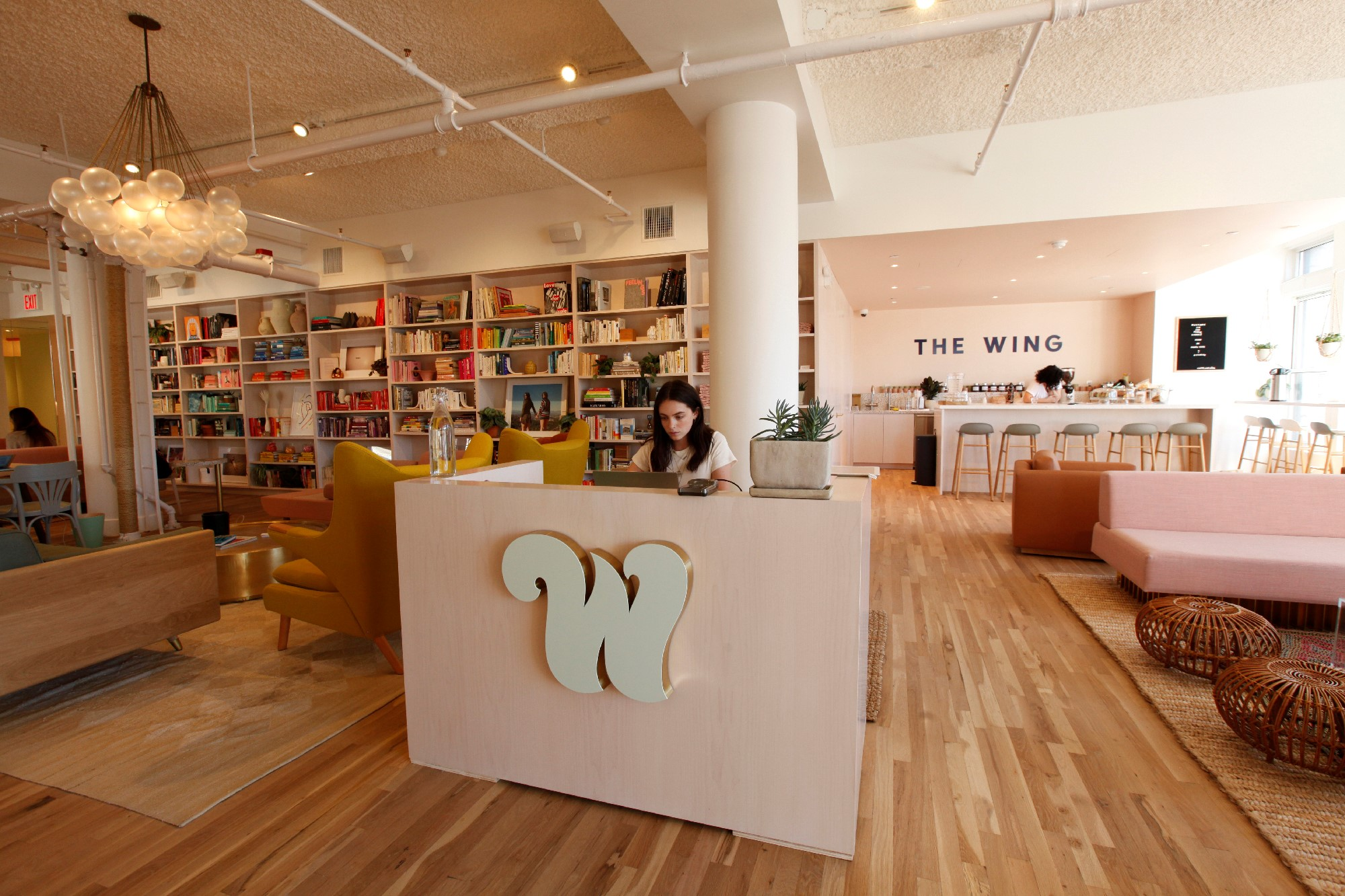 The WIng: veduta del coworking