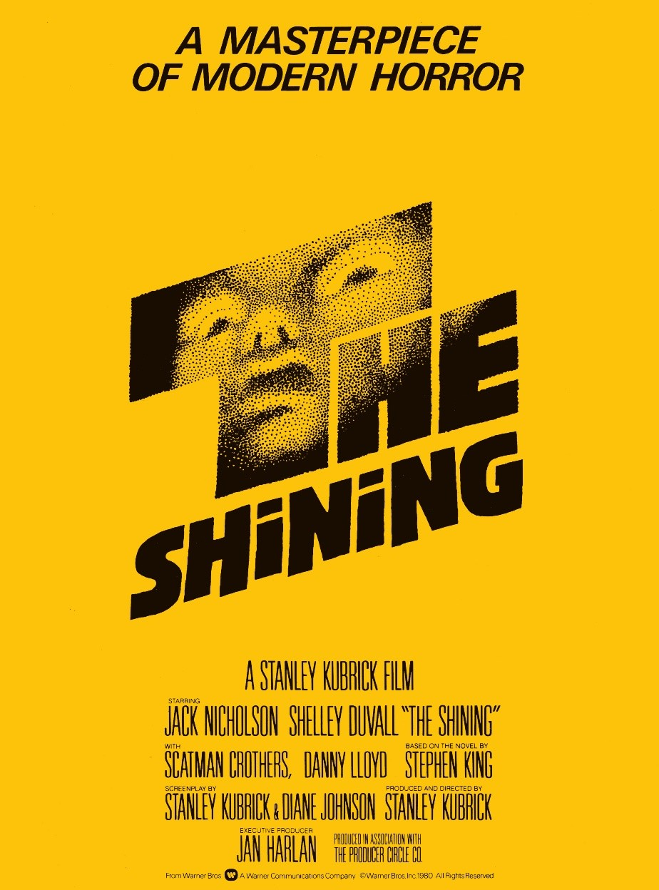 The Shining horror font