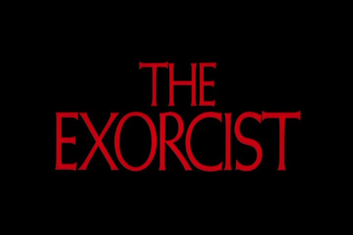 The Exorcist horror font