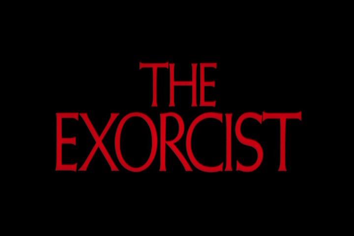 Font usato nella locandina del film L'esorcista