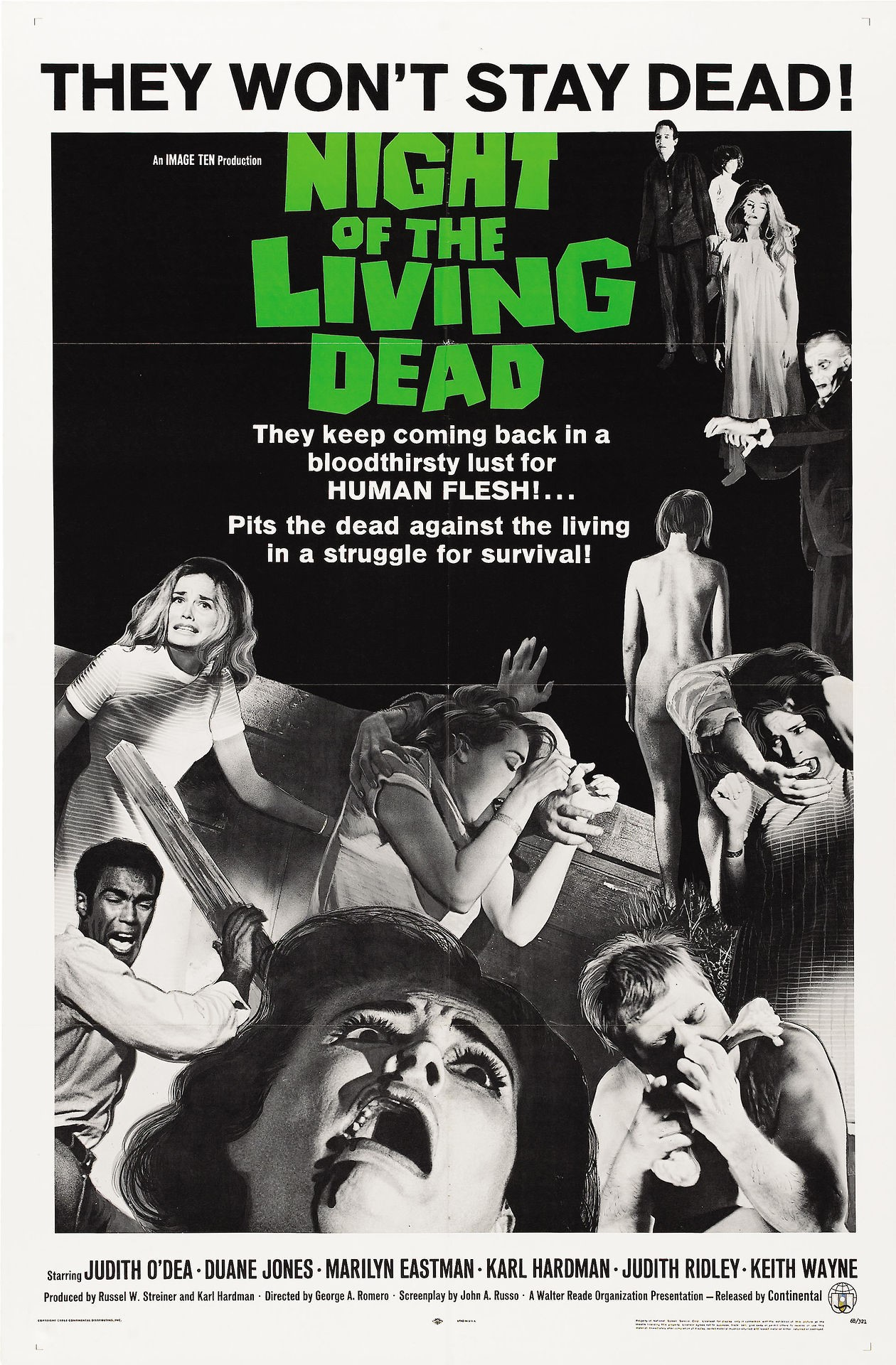 Night of The Living Dead horror font