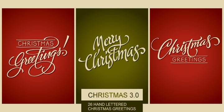 The Best Christmas Fonts Pixartprinting