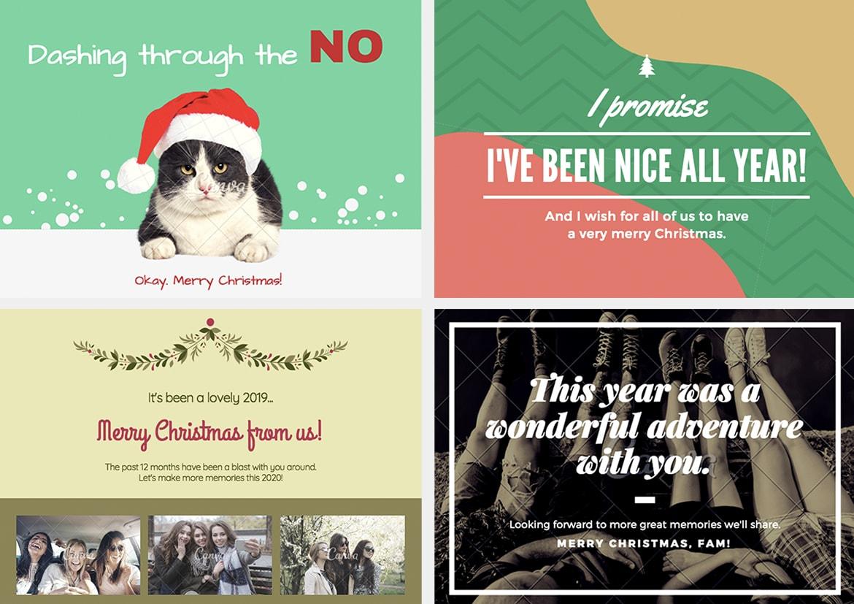 Biglietti Di Natale Spiritosi.Idee Per Biglietti Di Natale Fantasia E Creativita Pixartprinting