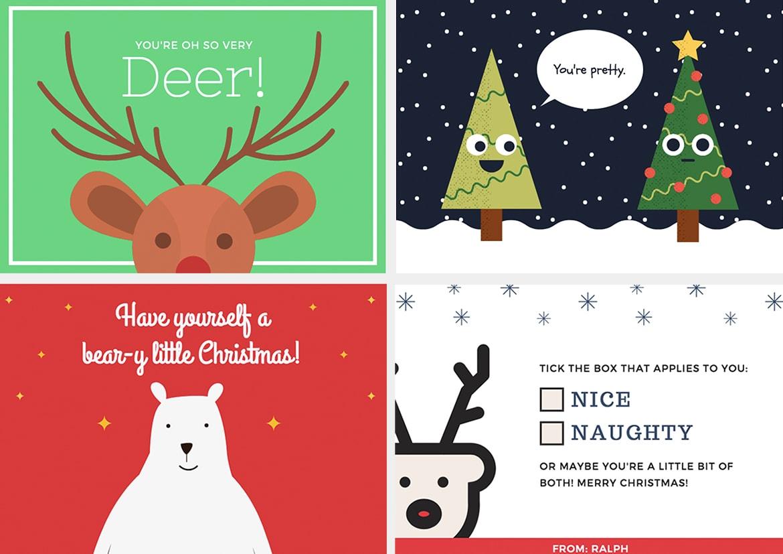 Schräge Weihnachtsgrüße.Pfiffige Ideen Für Weihnachtskarten Pixartprinting