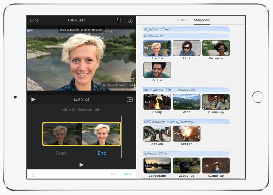 Apps to create videos and slideshows to show off your design