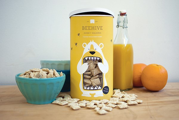 Beehive Honey Squares creado por Lucy Kuhn para la National Cereal Corporation
