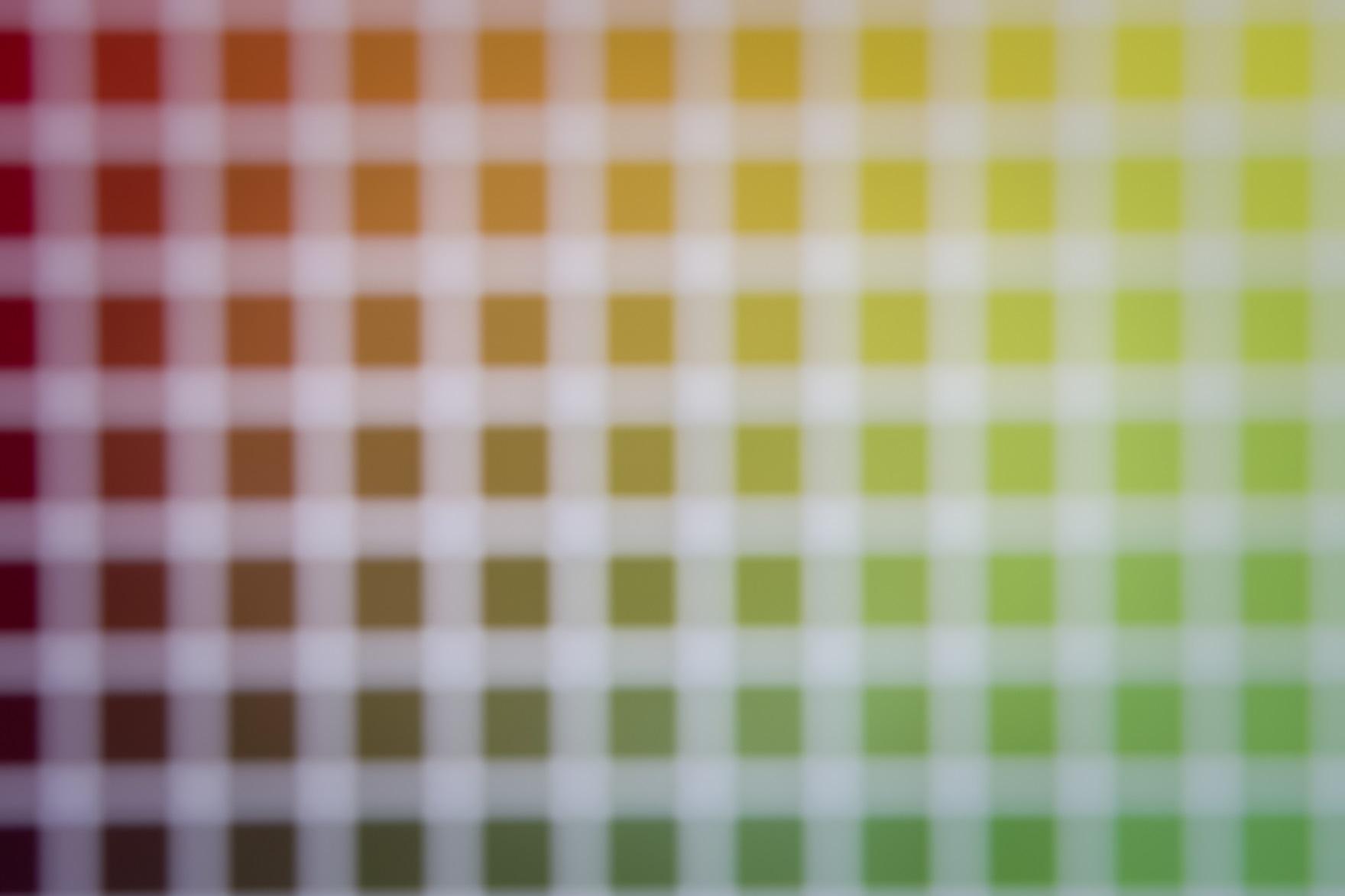 Épreuves d'impression en quadrichromie avec les couleurs CMJN