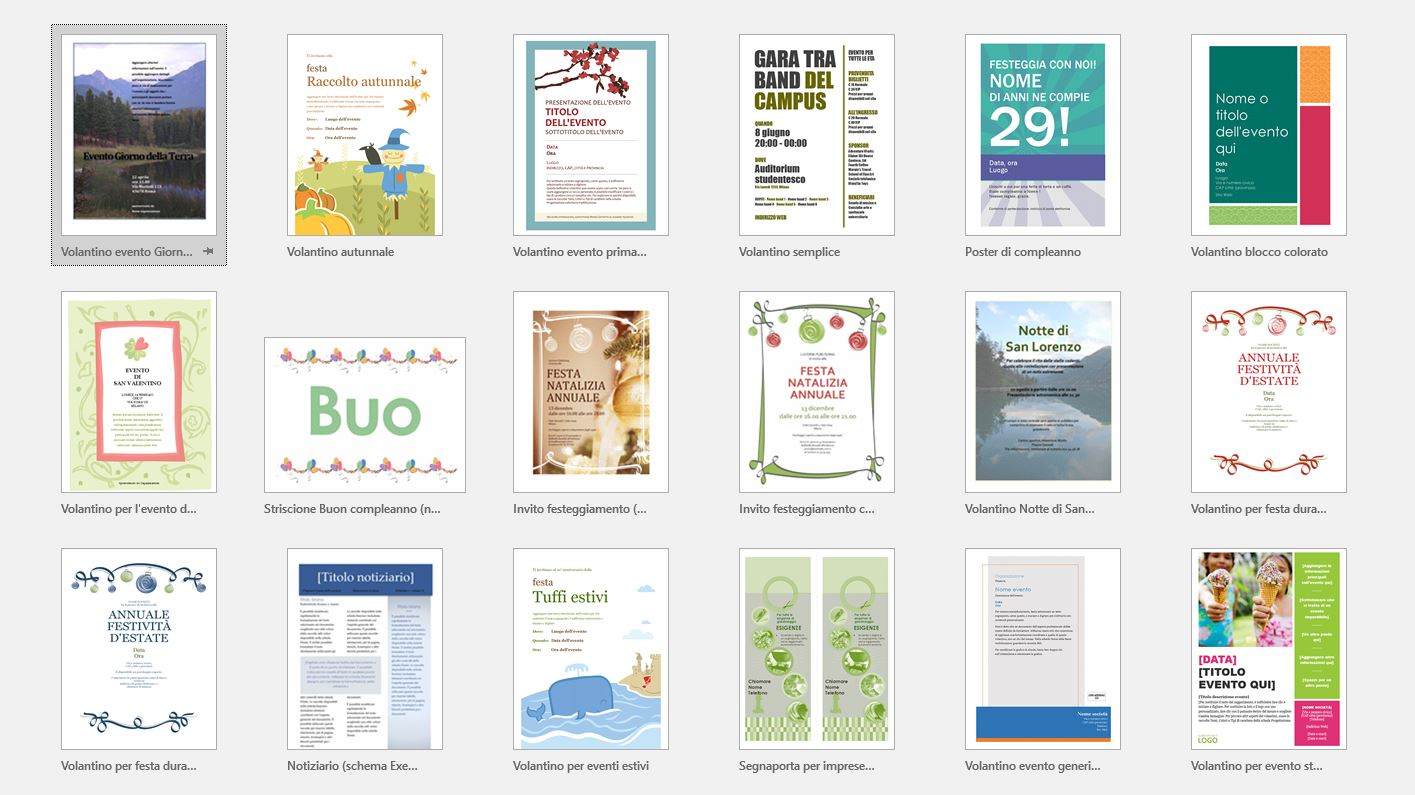 A screenshot showing how to create promotional leaflets with Word