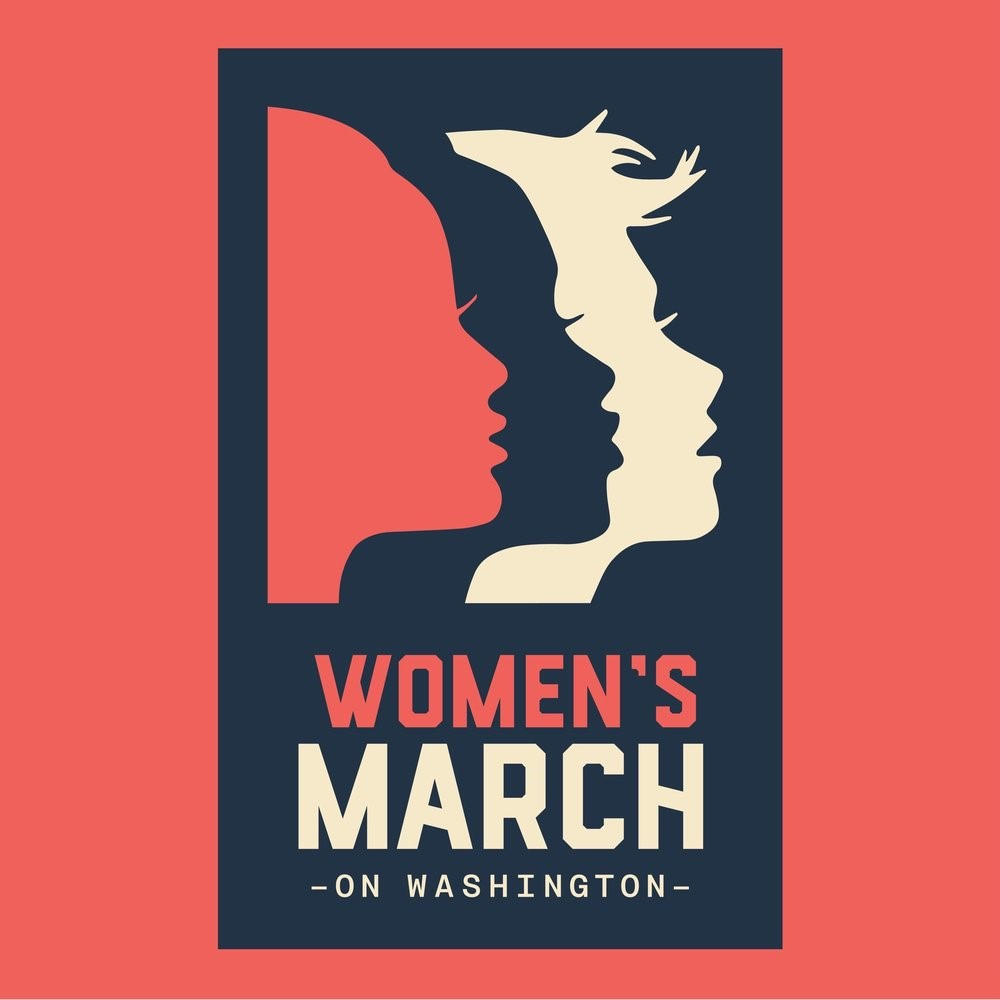 Women's March Poster Design, Nicole Larue, 2017