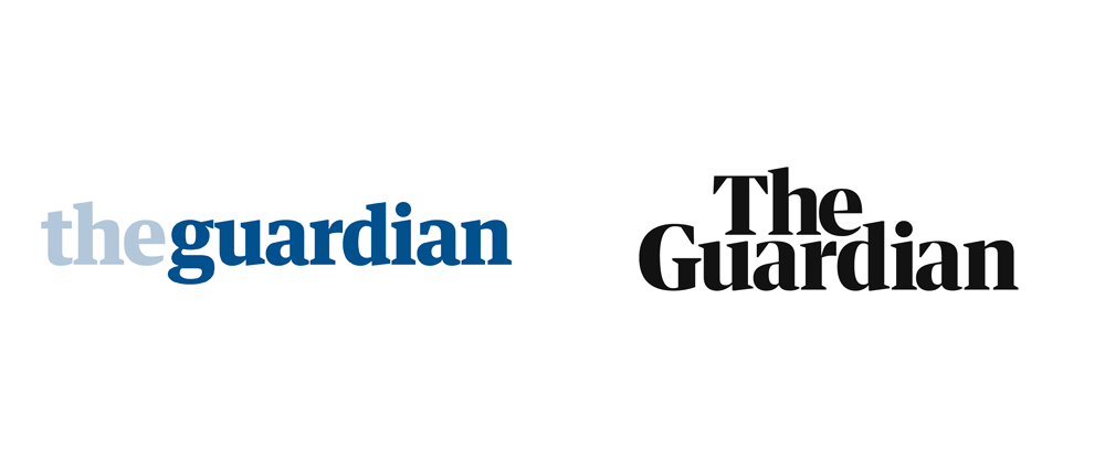 The Guardian's new logo