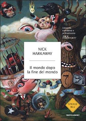 La cubierta del libro en versión italiana titulado «Il mondo dopo la fine del mondo»