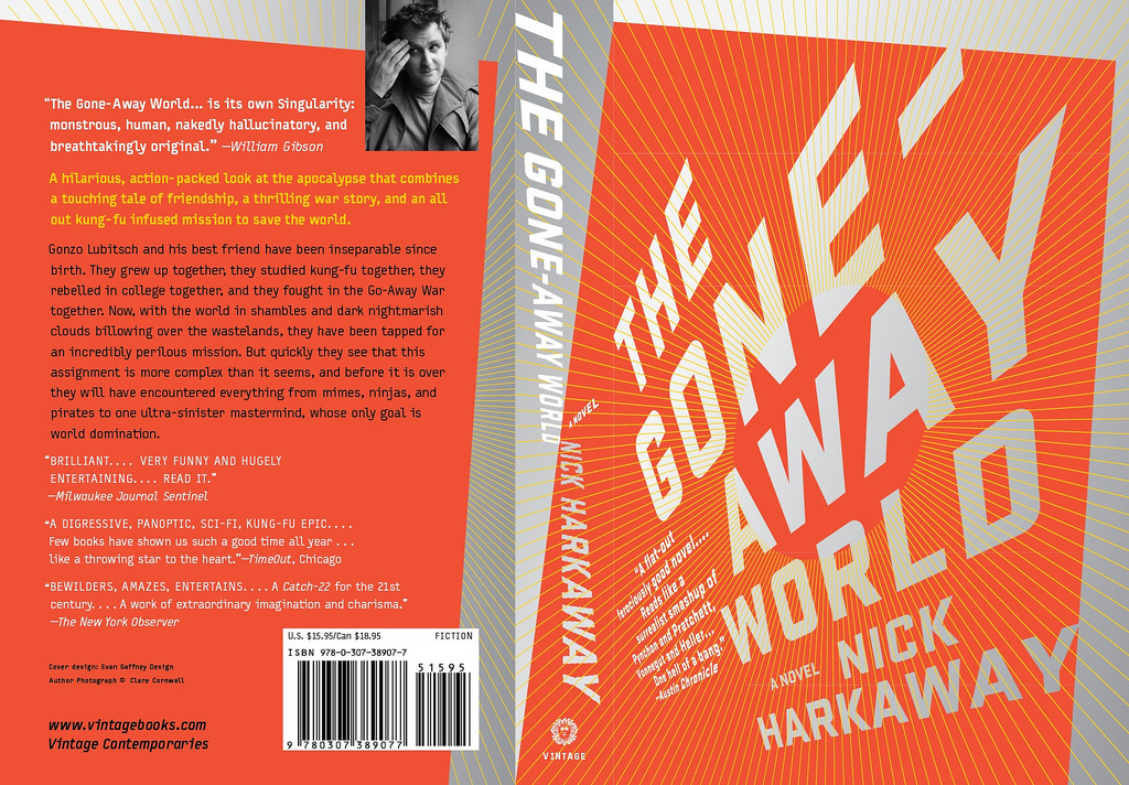 "Couverture du livre ""The Gone Away World"""