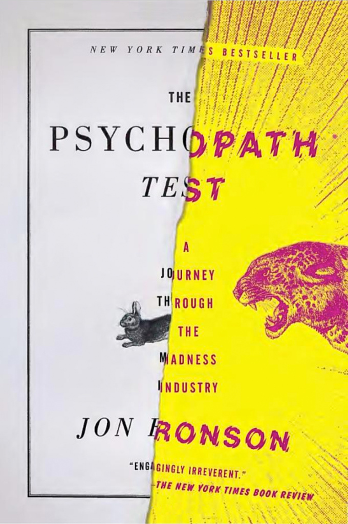 "Couverture du livre ""The Psychopath Test"""