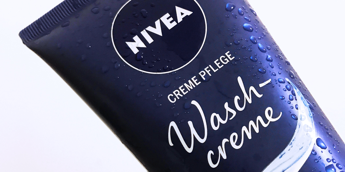 NIVEA Care Type in use on product packaging