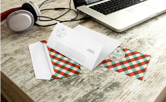 Customised invitation envelopes