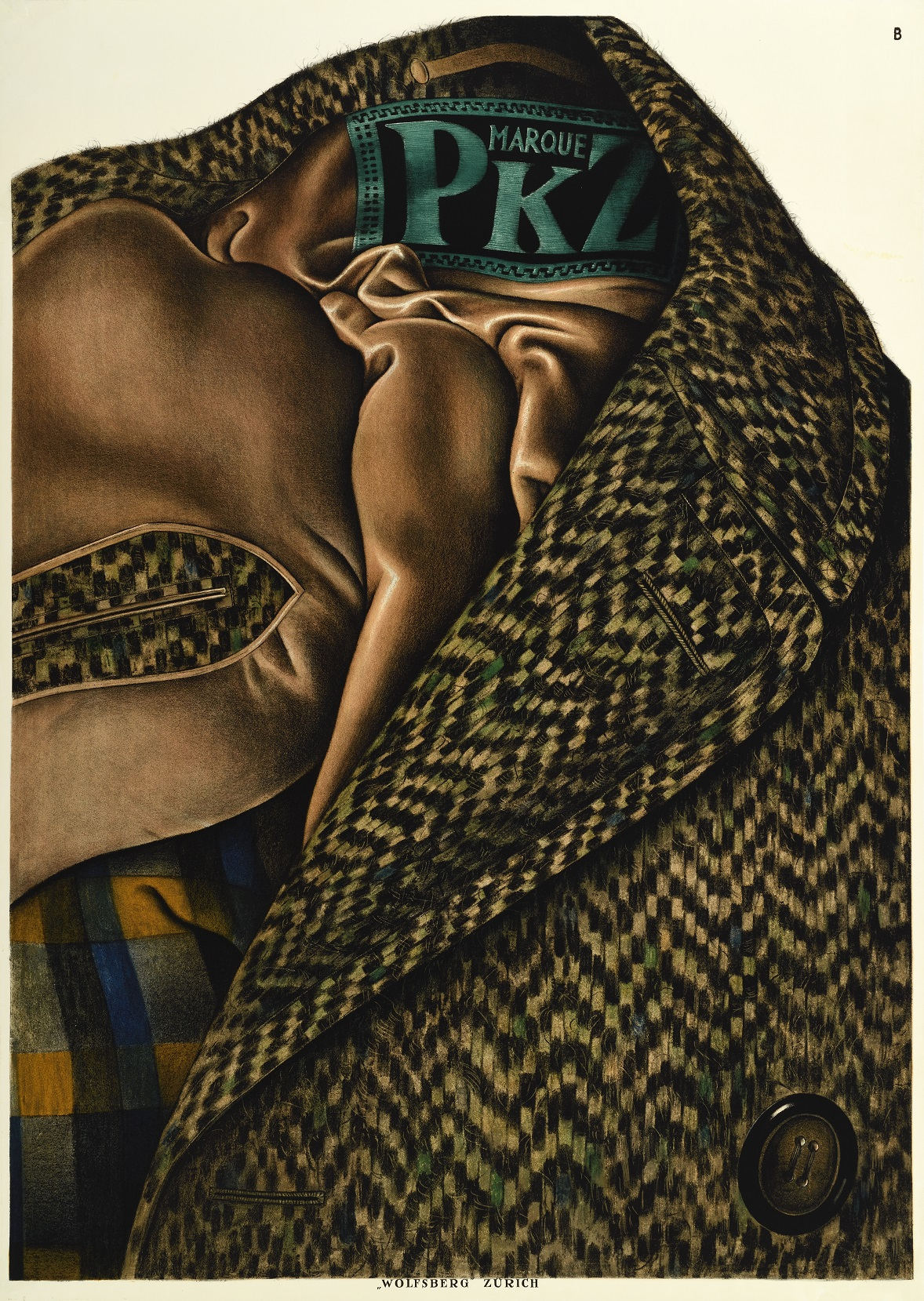 'PKZ', a poster by Otto Baumberger, 1923.