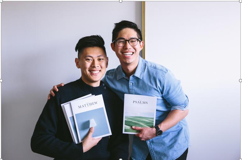 Los fundadores: Bryan Ye-Chung y Brian Chung. Cortesía de Alabaster.