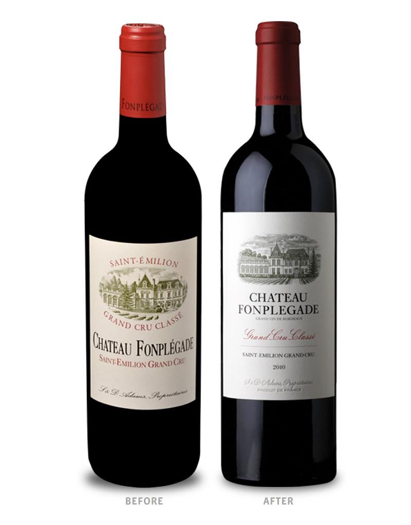 Azienda vinicola: http://www.fonplegade.eu/Our-Wines/Chateau-Fonplegade, Design: https://cfnapa.com, Fonte: https://www.pinterest.de/