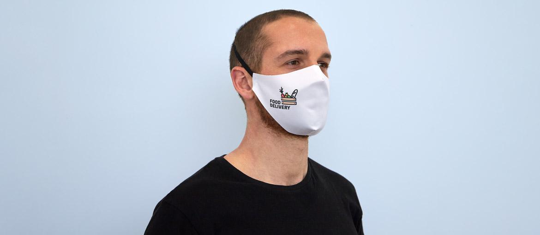 Una mascherina in tessuto: facilmente riutilizzabile