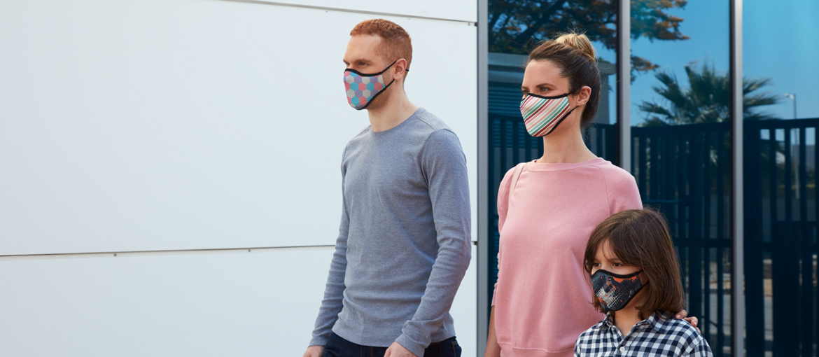 trumask® pro filtering masks: washable and stylish