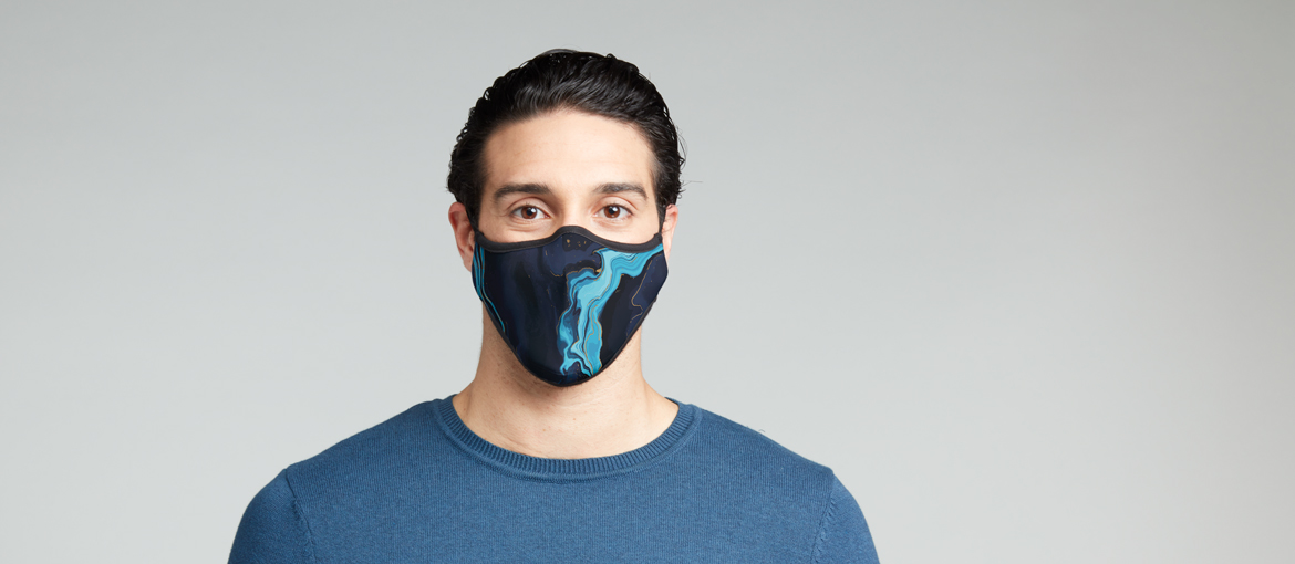 Filtering anti-virus mask: comfortable and colorful