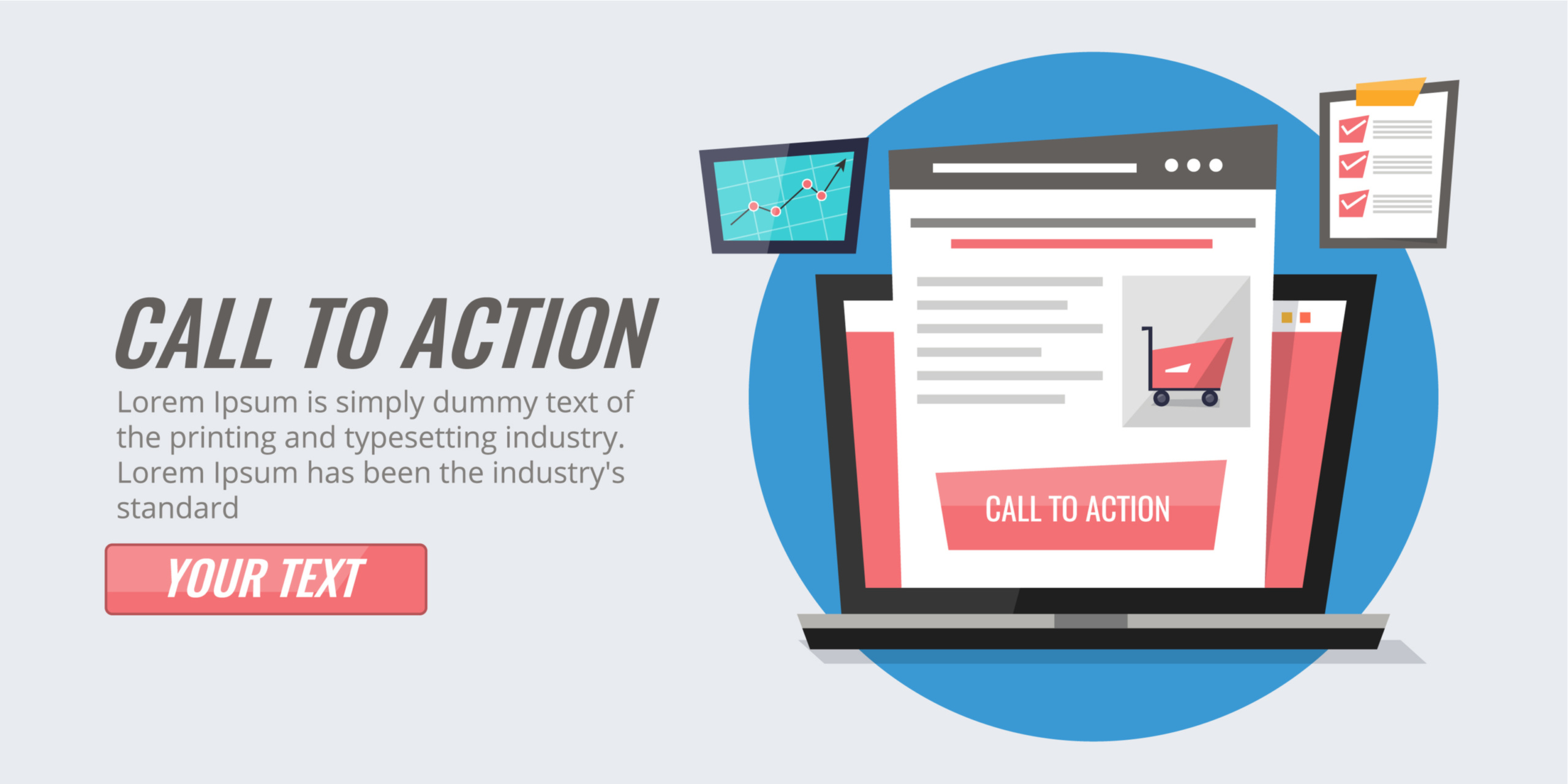 Call to Action or invitation to action is essential to convert the landing page