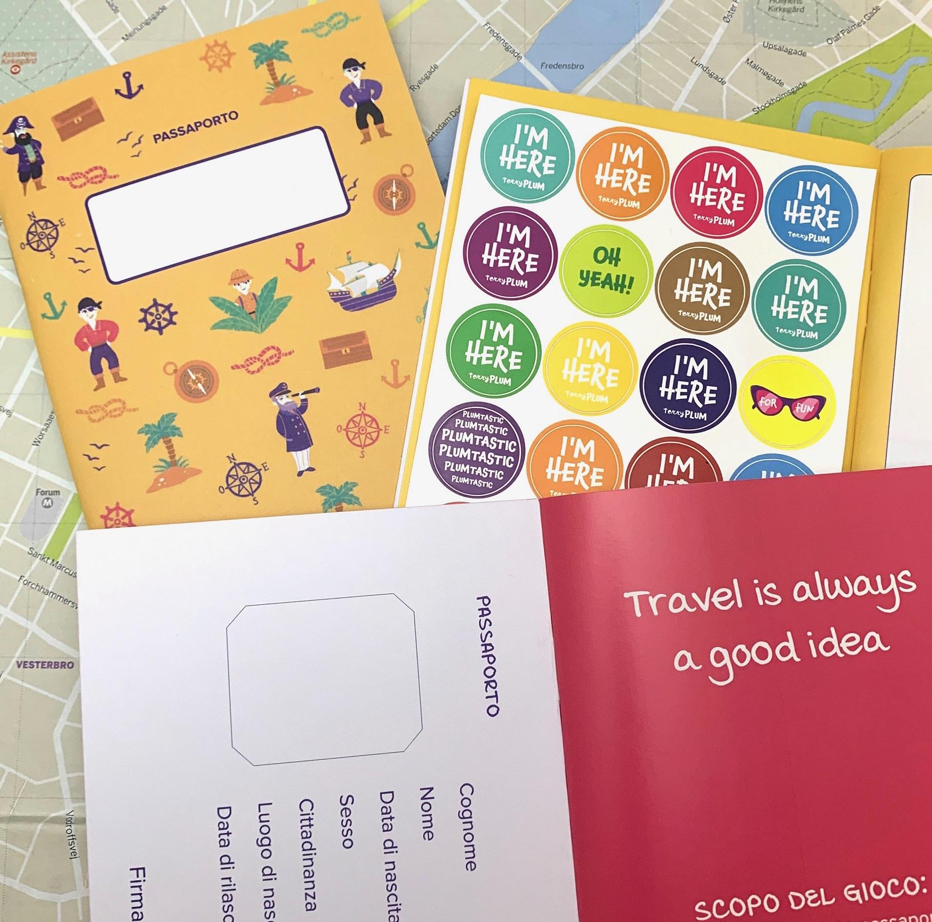 Algunas páginas de los diarios de viaje personalizados de Terry Plum