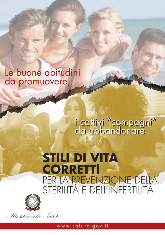 Copertina opuscolo Fertility Day