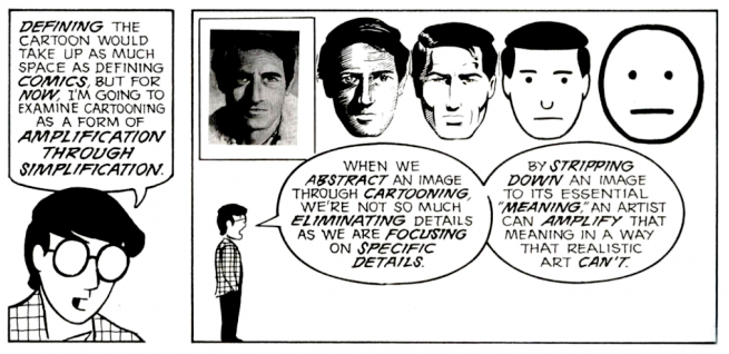 Image from the book Understanding Comics by Scott McCloud