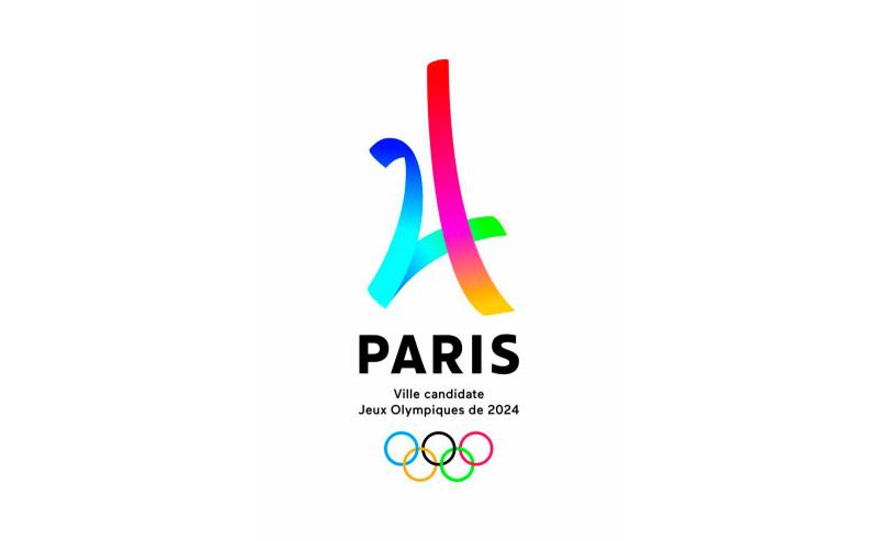 Logo candidatura. Crediti: Parigi 2024