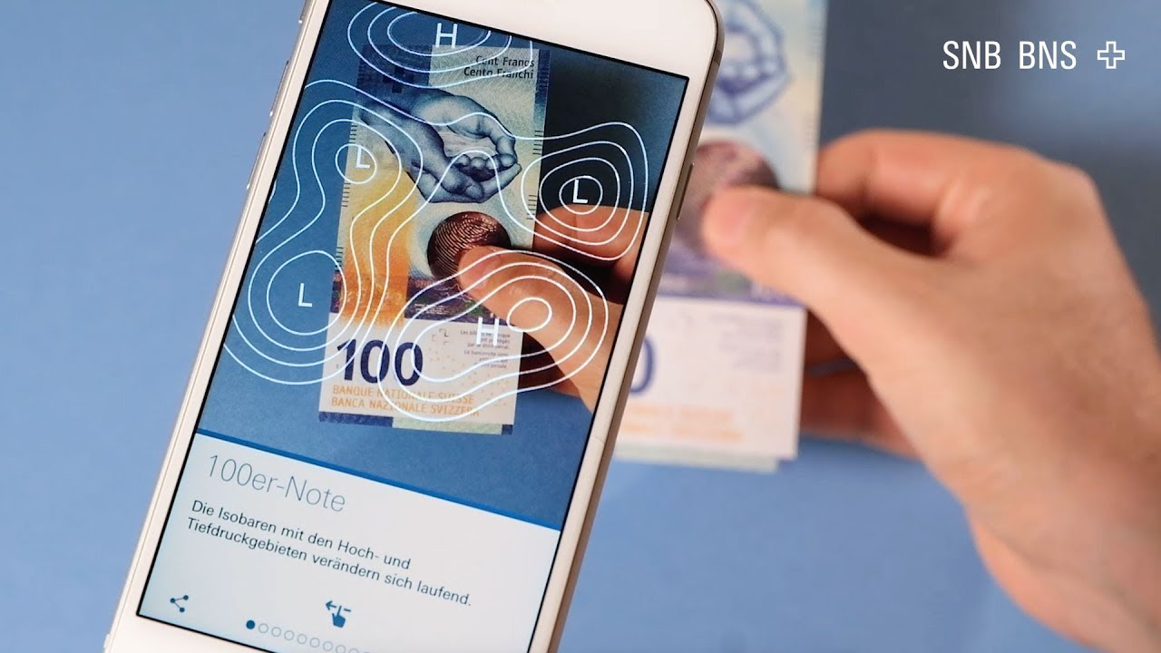 Image : 4. Swiss banknotes.Crédit : BNS