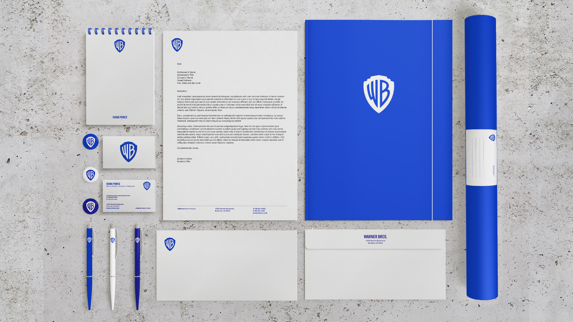 Stationery. Credit: Warner Bros.