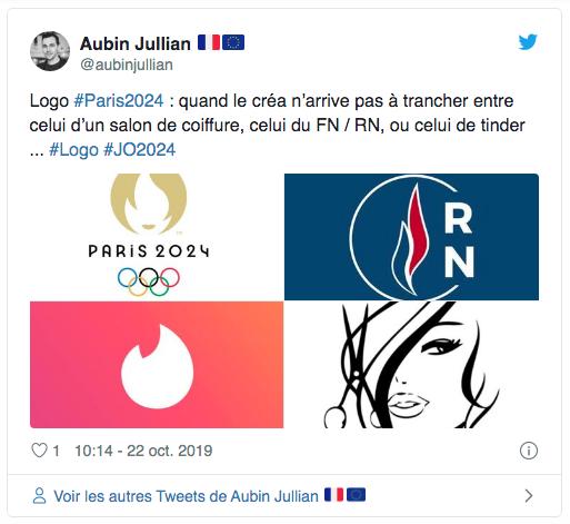 Logo mix. Crediti: Twitter/@AubinJullian