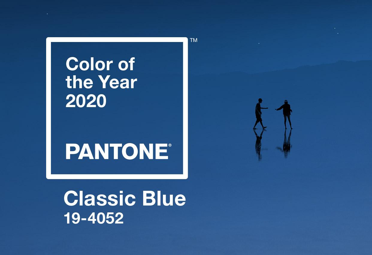 Il colore scelto da Pantone per il 2020