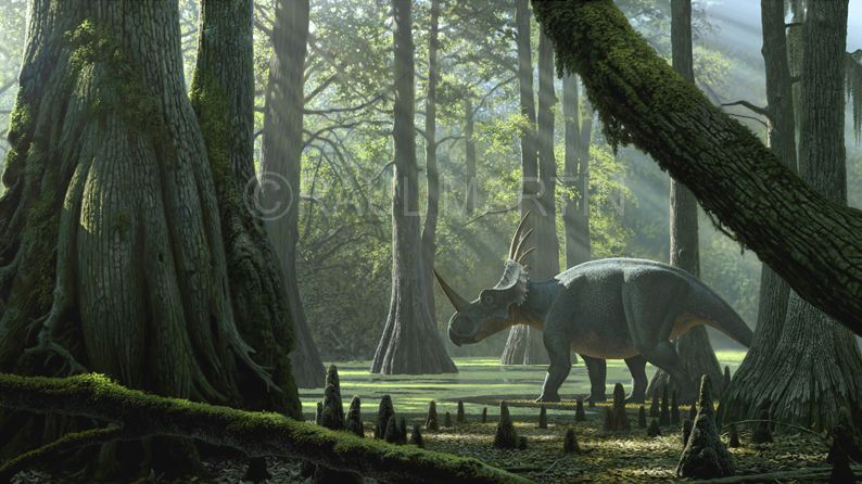 Immagine di proprietà dell'illustratore e paleoartista Raúl Martín
