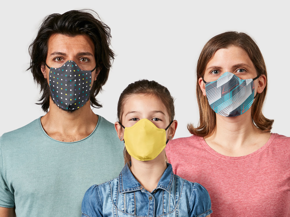 NinjaMasks: customisable and washable masks with excellent filtration