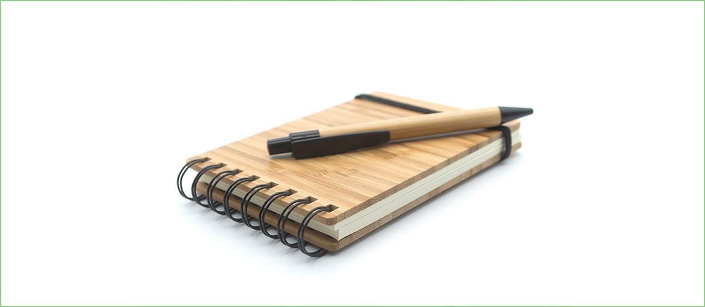 Bolígrafo ecologico.